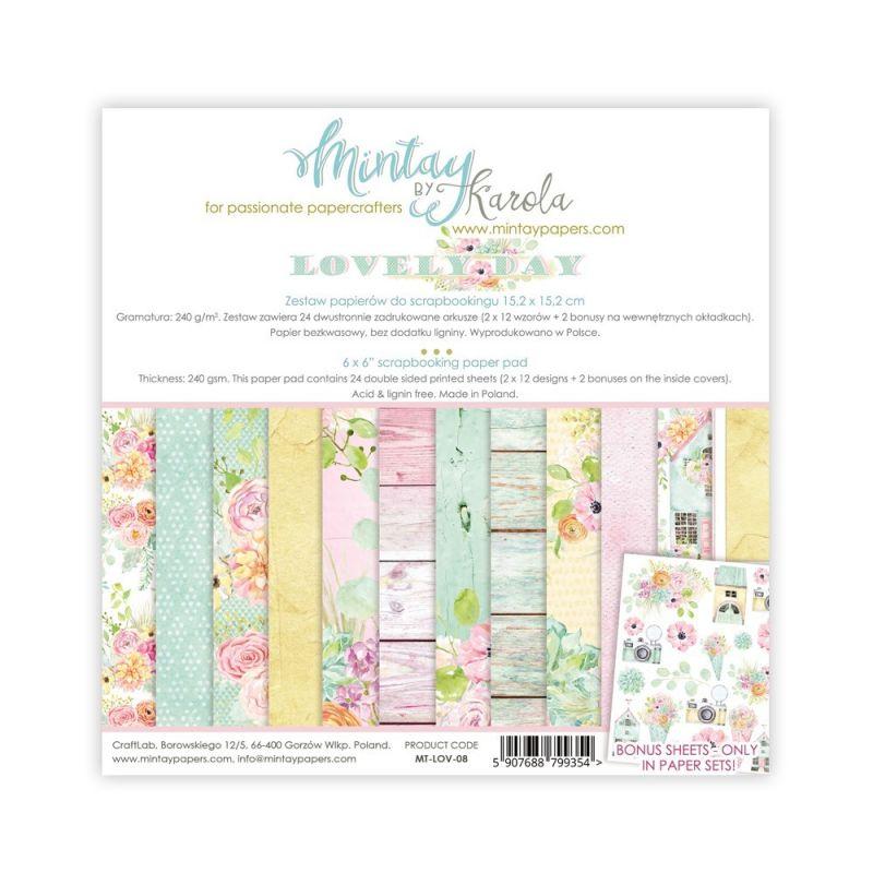 Mintay Lovely Day kollekció - 6x6