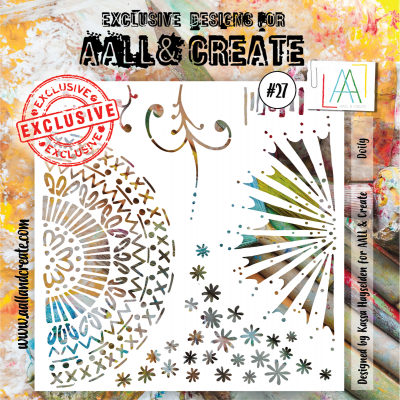 AALL and Create stencil no.27