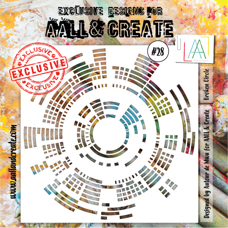 AALL and Create stencil no.28