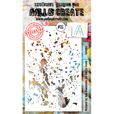 AALL and Create stencil no.35