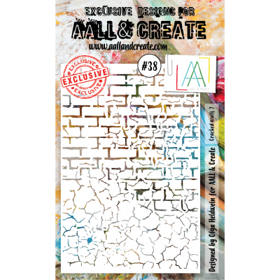 AALL and Create stencil no.38