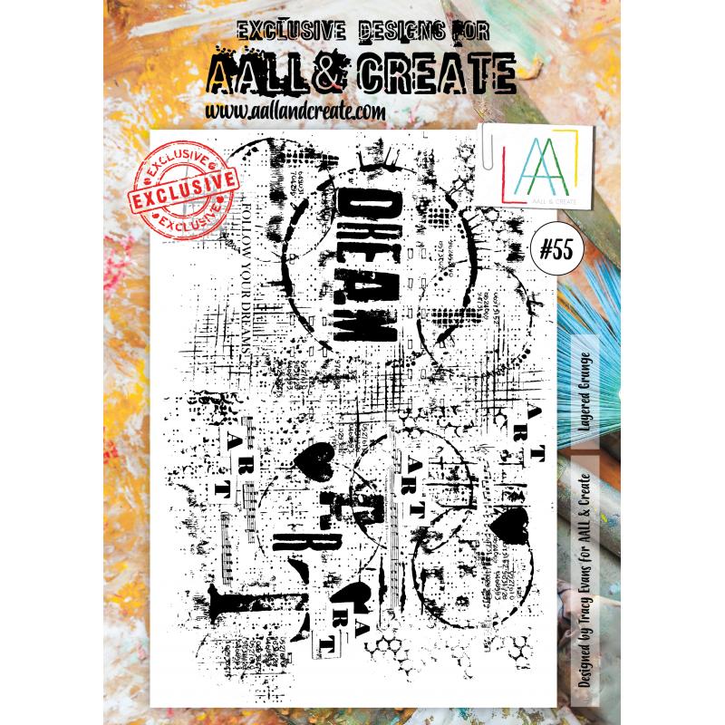 AALL and Create A4 bélyegző szett no.55