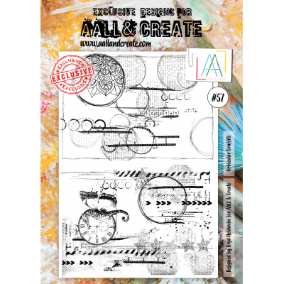 AALL and Create A4 bélyegző szett no.57
