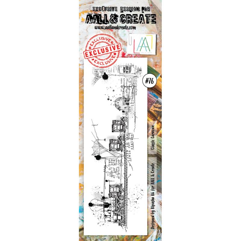 AALL and Create bélyegző szett no.76