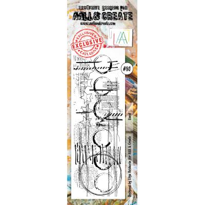 AALL and Create bélyegző szett no.80