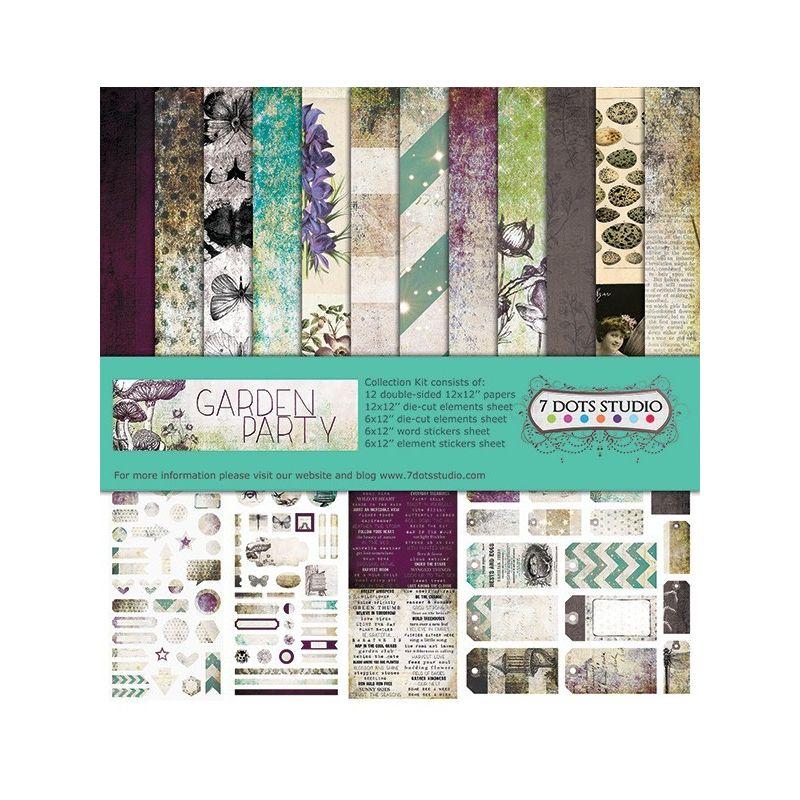 Garden Party maxi kollekció - 12x12