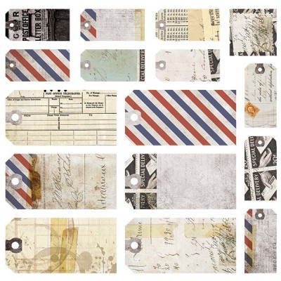 Air Mail - címke kivágatok