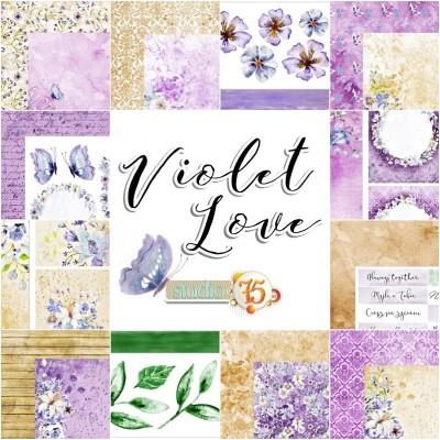 Violet Love - 12x12 kollekció Studio 75