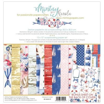 Mintay Marina mini kollekció - 12x12