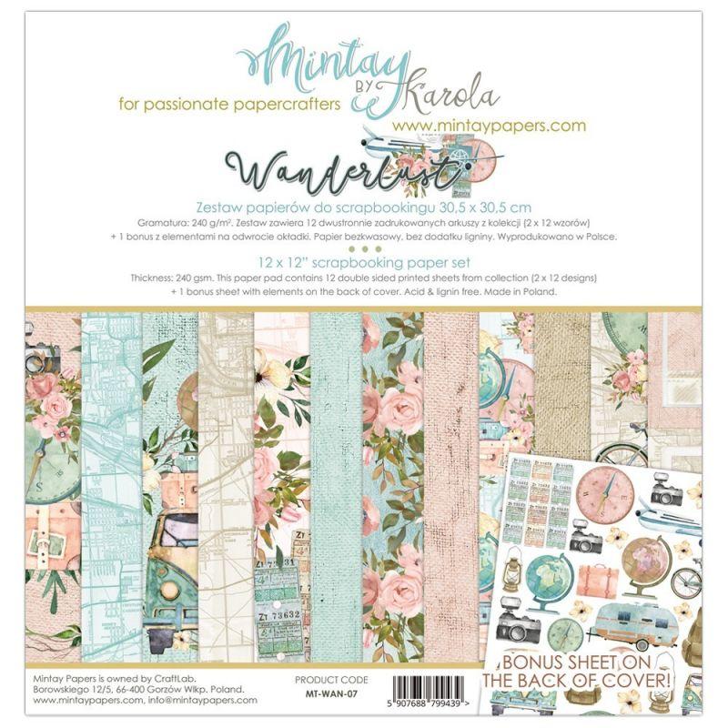 Mintay Wanderlust maxi kollekció - 12x12