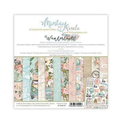 Mintay Wanderlust mini kollekció - 12x12