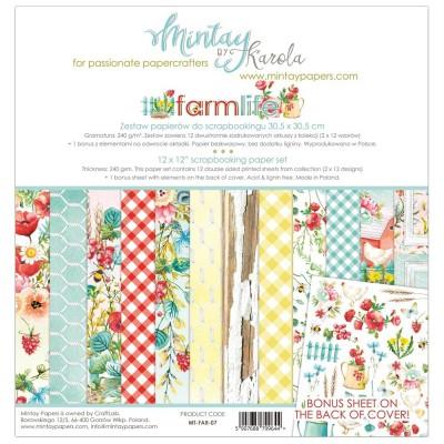 Mintay Farmlife mini kollekció - 12x12
