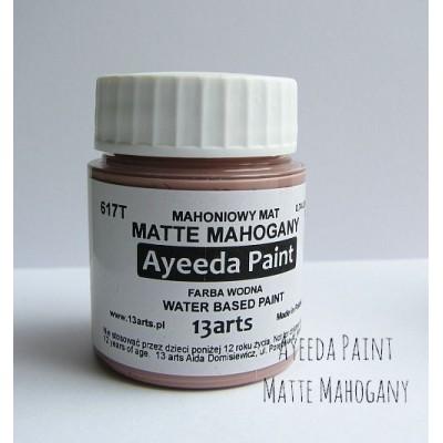 Ayeeda Matt Festék - Mahagóni