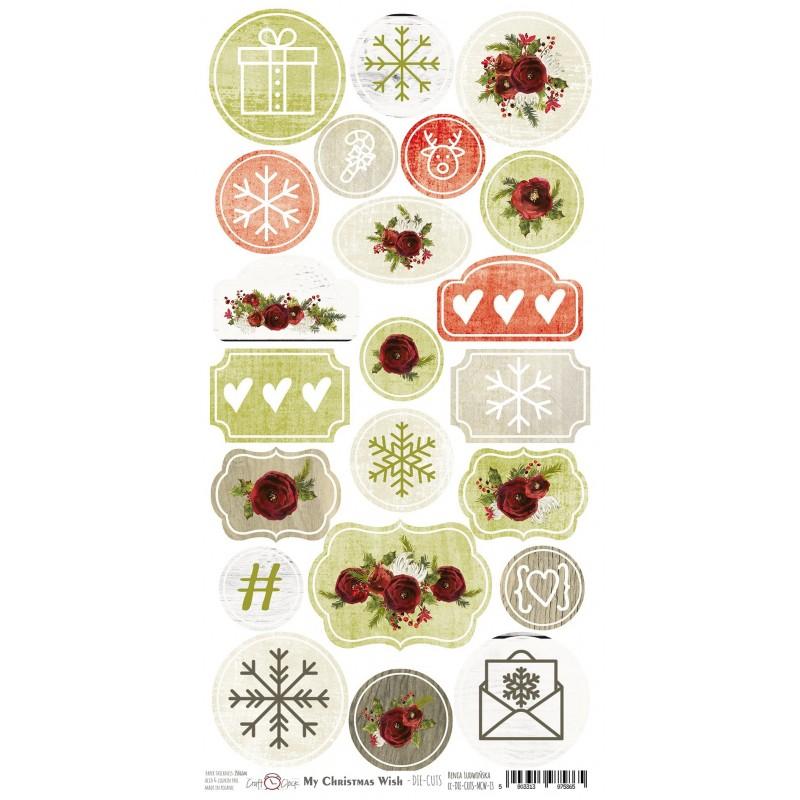 My Christmas Wish kivágóív