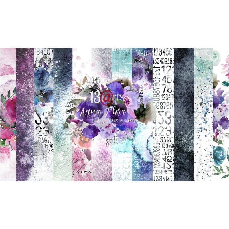 Aqua Flora kollekció - 12x12