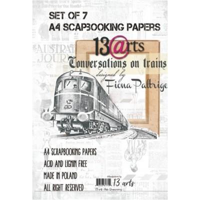 Conversation on Trains kollekció - A4