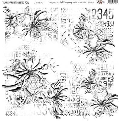 Átlátszó fólia - Numbers - 12x12