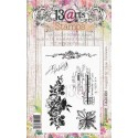 Flourish Garden bélyegző