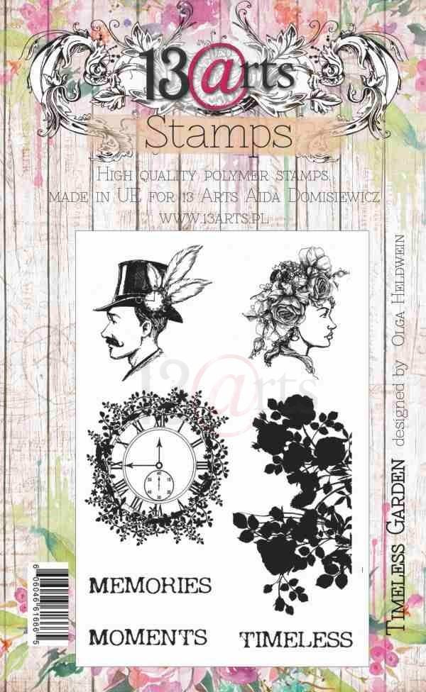 Timeless Garden bélyegző