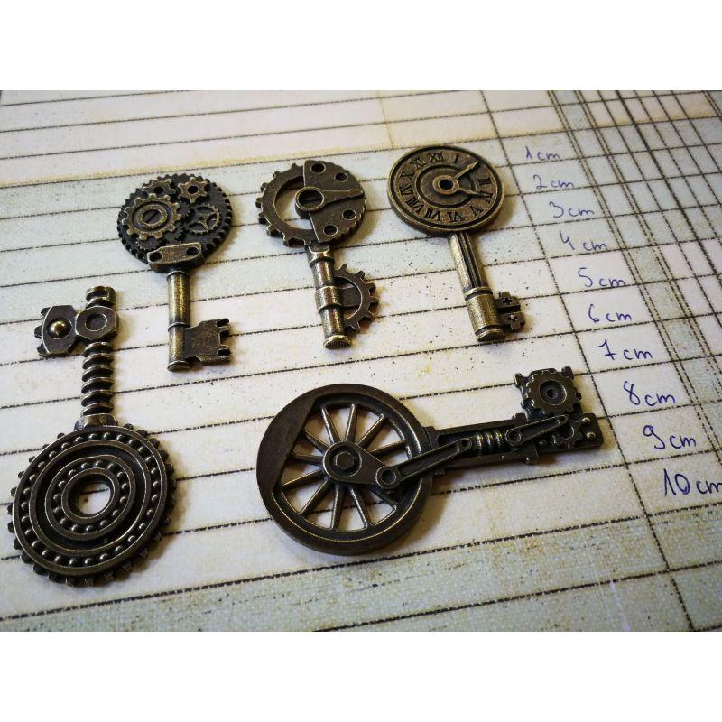 Nagy méretű kulcsok (5 db)