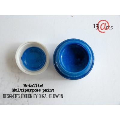 Ayeeda Metálos Festék - Kék