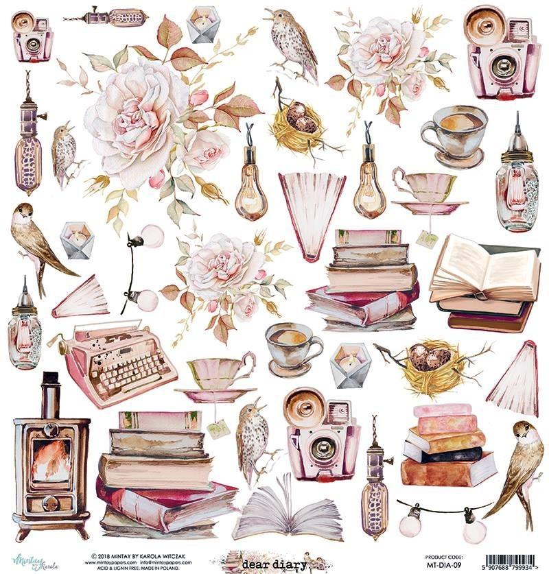 Mintay Dear Diary kivágóív