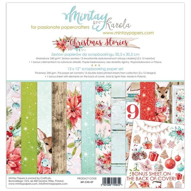 Mintay Christmas Stories mini kollekció - 12x12