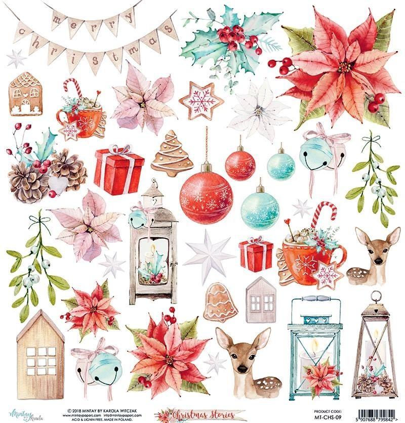 Mintay Christmas Stories kivágóív