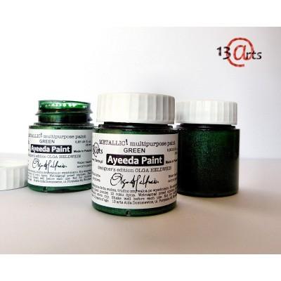 Ayeeda Metálos Festék - Zöld