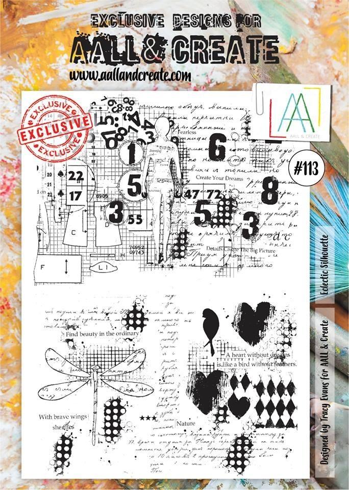 AALL and Create bélyegző szett no.113