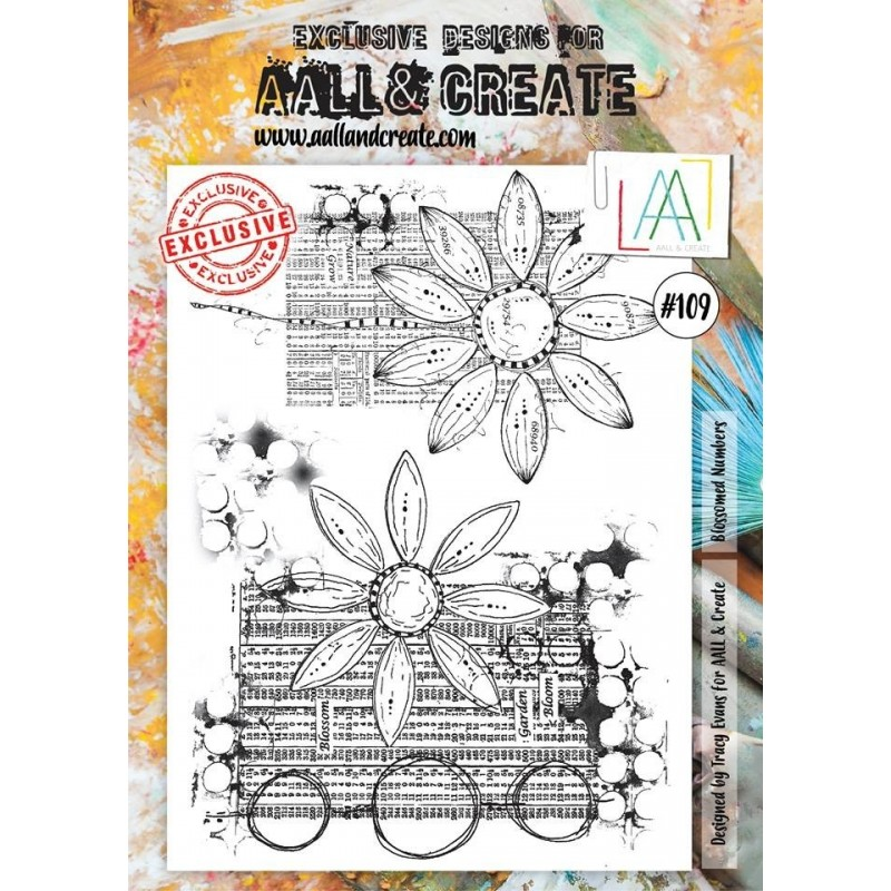 AALL and Create bélyegző szett no.109