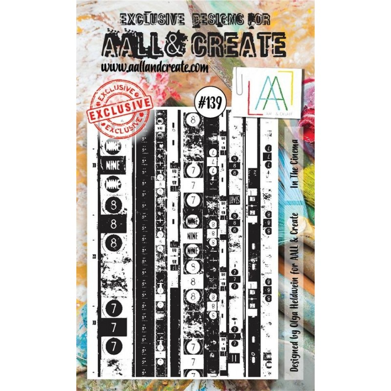 AALL and Create bélyegző szett no.139