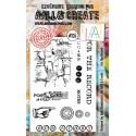 AALL and Create bélyegző szett no.125