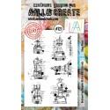 AALL and Create bélyegző szett no.122