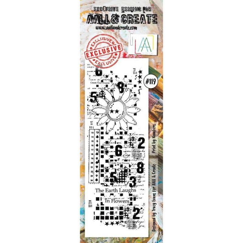 AALL and Create bélyegző szett no.119