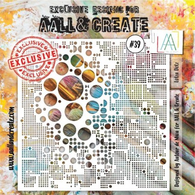 AALL and Create stencil no.39
