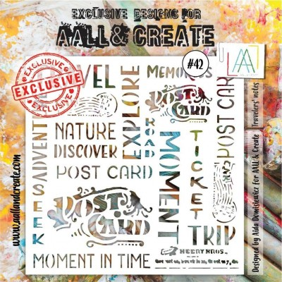 AALL and Create stencil no.42