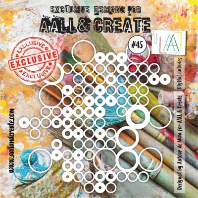 AALL and Create stencil no.45