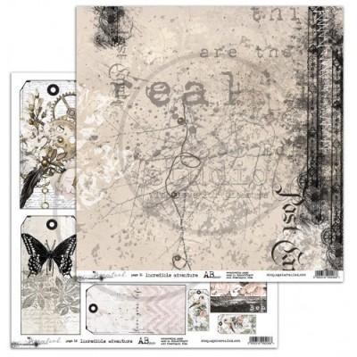 Dreamland - Incredible Adventure kivágóív- 12x12