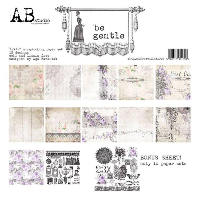 Be Gentle kollekció - 12x12