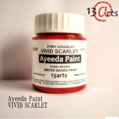 Ayeeda Élénk Festék - Bíborvörös