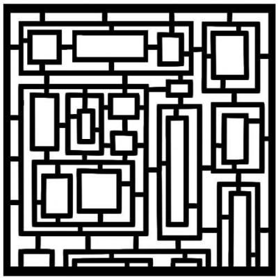 AB Studio chipboard háttér ID-7