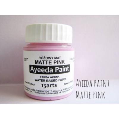 Ayeeda Matt Festék - Rózsaszín