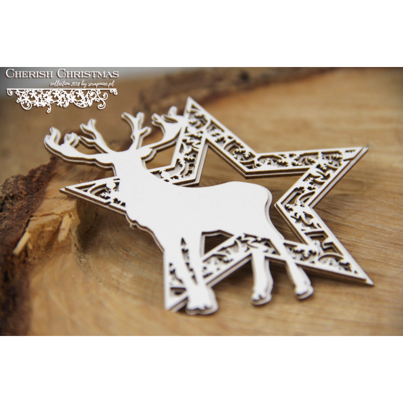 Cherish Christmas - 2 rétegű csillag