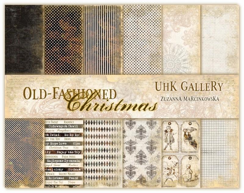 Old Fashioned Christmas kollekció 12x12