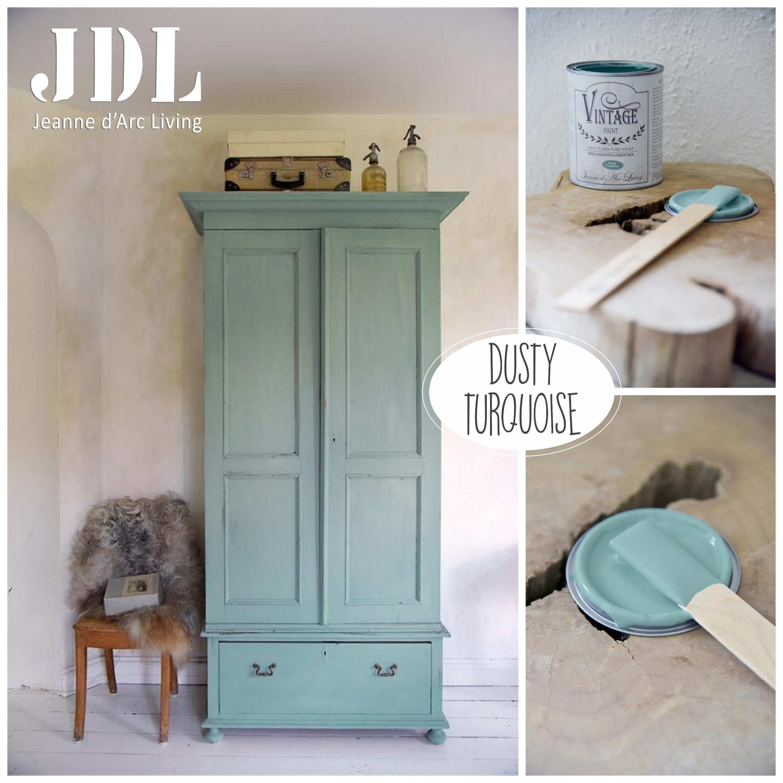Vintage Paint krétafesték -Dusty Turquoise 100 ml