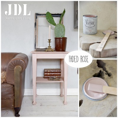 Vintage Chalk Paint - Faded Rose - JDL Vintage Paint