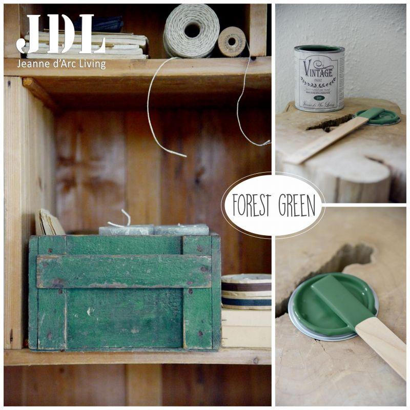 Vintage Chalk Paint -Forest Green - JDL Vintage Paint