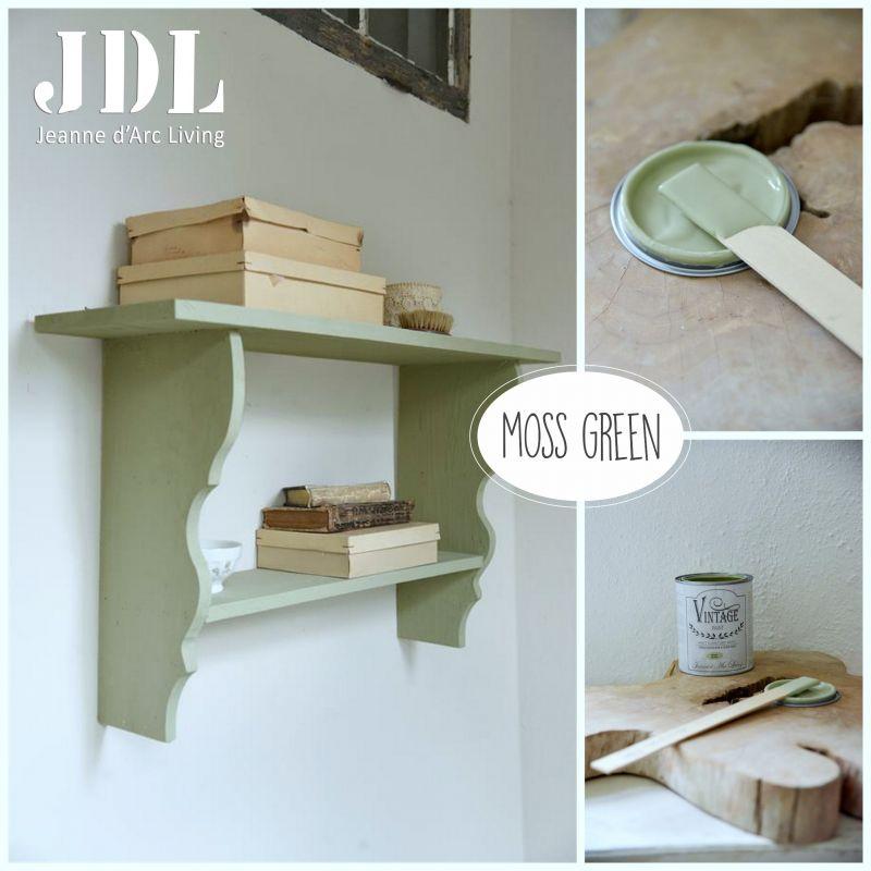 Vintage Chalk Paint - Moss Green - JDL Vintage Paint