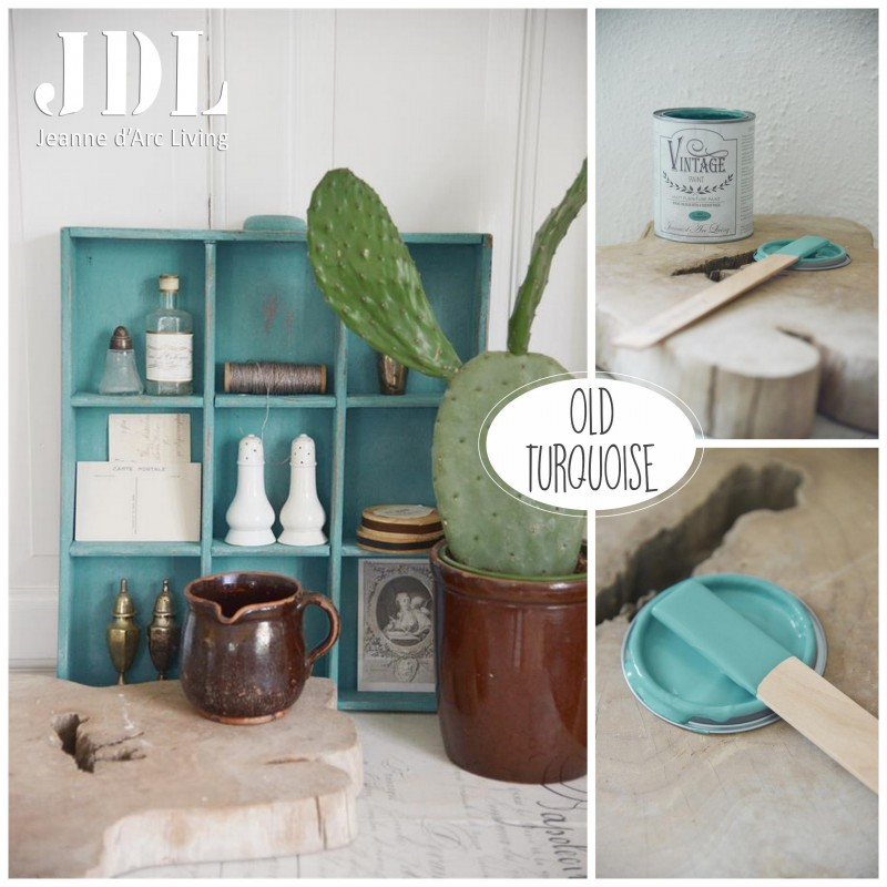 Vintage Chalk Paint - Old Turquoise - JDL Vintage Paint